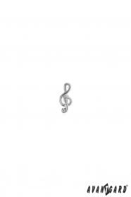 Szpilka do klapy - Klucz wiolinowy