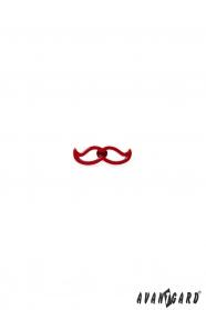 Szpilka do klapy - vczerwone wąsy