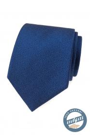 Elegancki niebieski jedwabny krawat