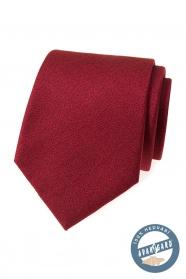 Jedwabny krawat w kolorze bordowym
