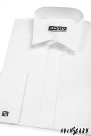 Koszula smokingowa z podwójnym mankietem