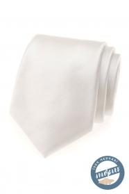 Lekko kremowy jedwabny krawat w ozdobnym pudełku