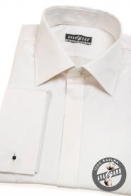 Męska bawełniana koszula na spinki