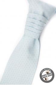 Jasnoniebieski krawat ślubny