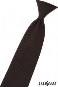 Brązowy krawat niemowlęcy