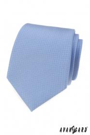 Niebieski krawat w małe kropeczki
