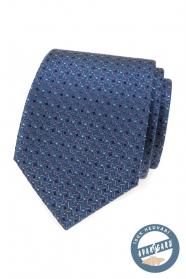 Luksusowy krawat z jedwabiu w kolorowy wzór