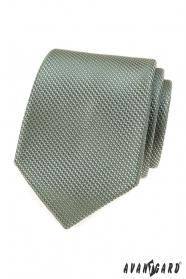 Krawat w kolorze oliwkowozielonym