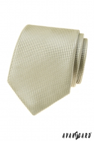 Zielonkawy krawat męski