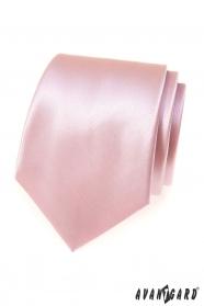 Krawat męski różowy / pudrowy