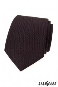 Brązowy krawat LUX