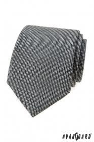 Krawat szary LUX