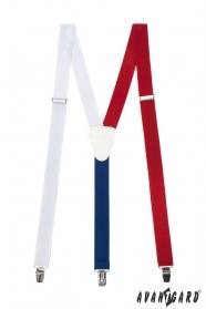 Szelki męskie Tricolor