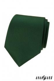 Krawat zielony matowy LUX