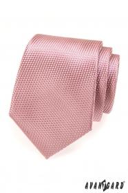 Krawat AVANTGARD LUX - Pudrowy