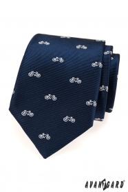 Niebieski krawat, rower